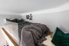 Suspended Bed Frame Dreamy Studio Apartment With A Suspended Bed Daily Dream Decor