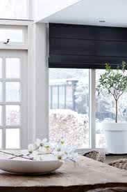 Hillarys Blinds Northampton Black Blinds Go Well In Almost Every Room Keeping The Light To A