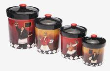 chef canisters ebay