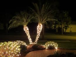christmas gardens04 palm tree christmas lights trees for