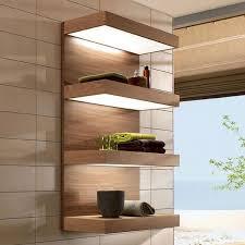 Contemporary Bathroom Shelves Bathroom Ideas For Bathroom Shelves Modern Plain Grey Wallpaper