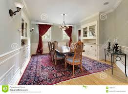 Dining Room Built Ins Dining Room With Gold Walls Stock Photos Image 16476113