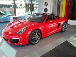 Porsche Boxster Red - porsche announces cayenne diesel and all new boxster baker motor
