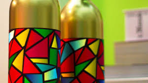 Stained Glass Vase Holiday Stained Glass Bottle Vases Youtube