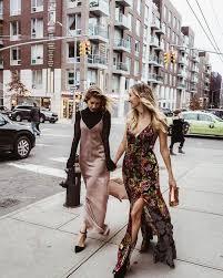 fall style slip dress trend kp fusion