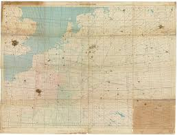 Navigation Map Gee Chart Reims Chain December 1944 1 1000000 Scale Time And