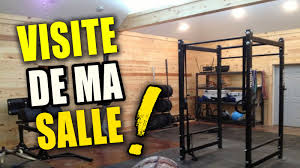 decoration salle de sport visite guidée de ma salle de musculation garage gym youtube