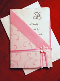 new and descent wedding invitations collection 13 pink