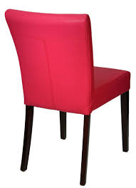 leather parson dining room u0026 kitchen chairs pink leather