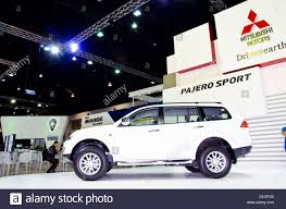 mitsubishi thailand the mitsubishi pajero sport car on display at the 29th thailand