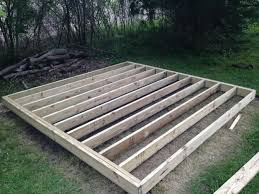 How To Build A 10x10 Shed Plans by How To Build A Mini Barn Part One Foundation Youtube