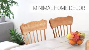 simple home decor ideas dining room u0026 kitchen youtube
