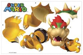 684slm bowser super mario giant wall stickers bowser super mario giant wall stickers