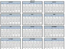 printable calendar yearly 2014 26 year calendar 2014 template 2014 2015 2016 3 year calendar
