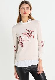 second female standard sweatshirt honey melange zalando co uk