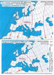 magnetic declination map cartography unchained