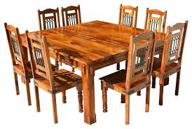 eucalyptus wood dining table rustic solid wood dining table incredible dining room decoration