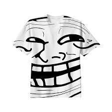Troll Pics Meme - shop meme troll face full shirt cotton t shirt by sawine print all
