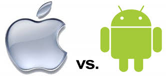 iphones vs androids iphone vs android difference of 12 points info noob
