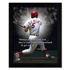 Archer Johnny Bench Called No One Blocked The Plate Like Johnny Bench Mlb Pinterest