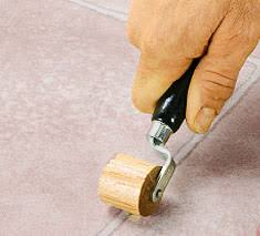 5 steps to an easy vinyl floor repair on the house