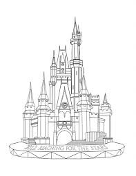 cinderella castle coloring pages businesswebsitestarter com