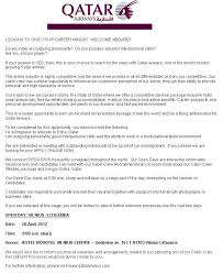 cover letter example for emirates cabin crew templates flight
