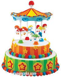carousel cake topper carnival birthday cake toppers