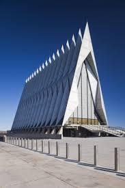 capilla de cadetes de la academia de la fuerza aérea de los