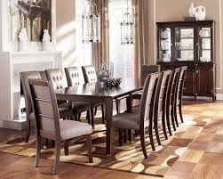 Large Round Dining Room Tables Large Round Dining Room Tables With Brown Finish Home Interior