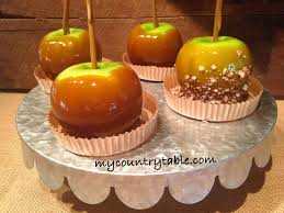 candy apples for halloween halloween archives my country table