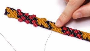 bead weave bracelet images Instructional videos beading resources beadaholique jpg