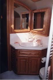 custom manufactured bus conversion gmc bus bathroom vanity