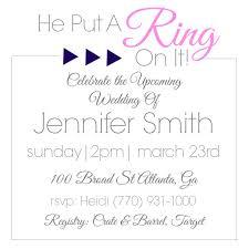 bridal shower registries wedding invitation wording no registry wedding