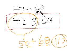 showme addition chunking method