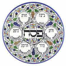 pesach plate passover plate according to arizal kabbalah ohr makif