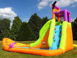 bebop canyon kids bouncy castle and water slide bebop uk