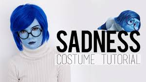 inside out costumes inside out sadness costume tutorial