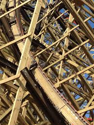 Goliath Six Flags Goliath Six Flags Giant Wooden Roller Coaster Breaks Records