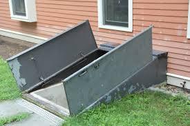 fantastical types of basement doors backyard door springs