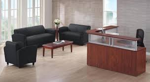 Laminate Reception Desk Commercial Couches U0026 Office Sofas For Great First Impressions