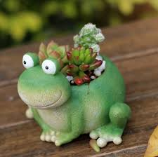 ceactive cute fog resin flower pot succulent planter original