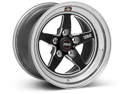 2009 Mustang Gt Black Weld Racing Mustang Rt S S71 Black Wheel 15x10 71mb 510a65a 94