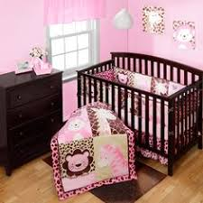 Girls Jungle Bedding by Pink Crib Bedding Musical Mobile Nursery And Girls