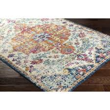Orange And Blue Area Rug Blue And Brown Area Rug Thelittlelittle