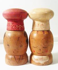 Salt And Pepper Shakers Shop Wood Salt And Pepper Shakers On Wanelo