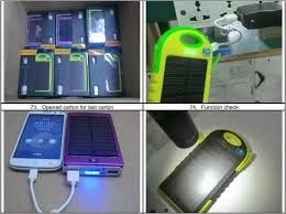might d light charger when i charge my power bank the first light is blinking but not
