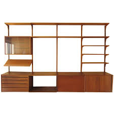 Modular Wall Units Mid Century Modern Danish Teak Modular Wall Unit After Poul