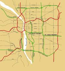 map of oregon freeways dead highways