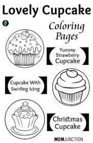 free printable coloring kddoodle featuring sweets